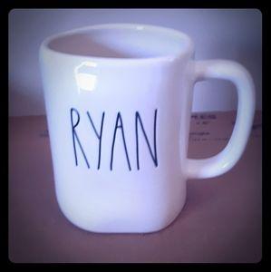 Rae Dunn LL RYAN Mug